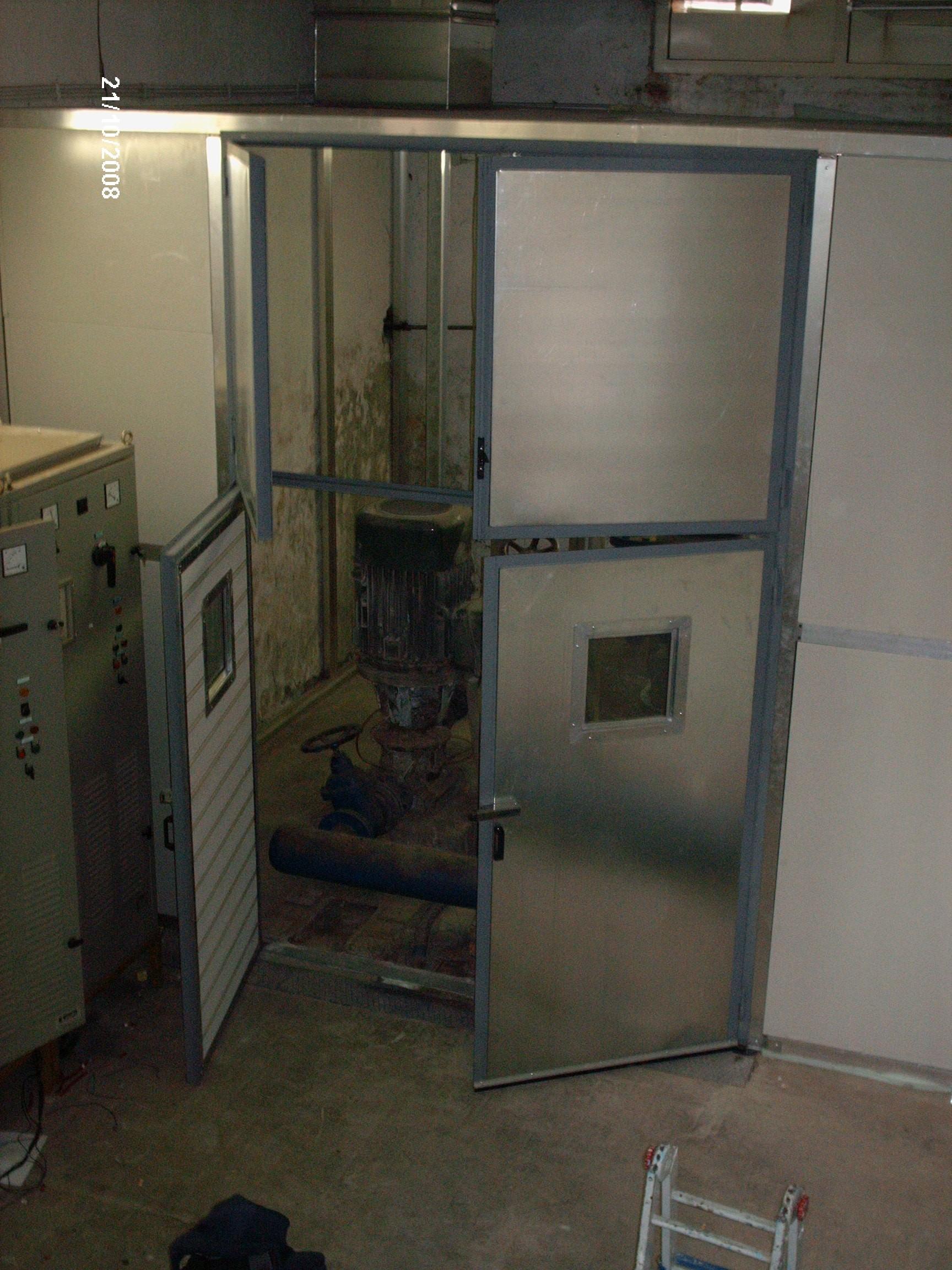 Cabina silente impianto pompe acqua