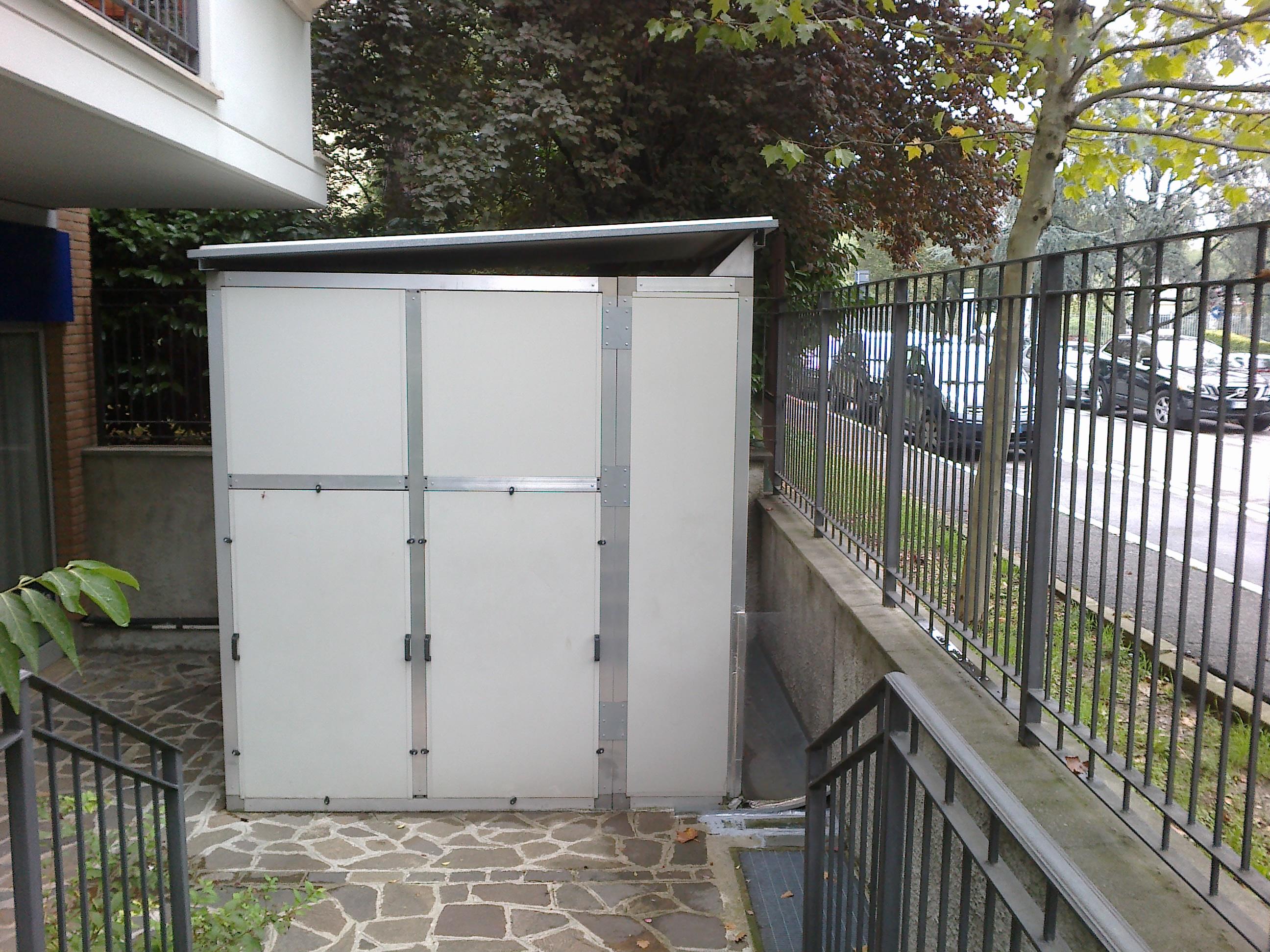 Isolamento acustico macchina cdz in esterno