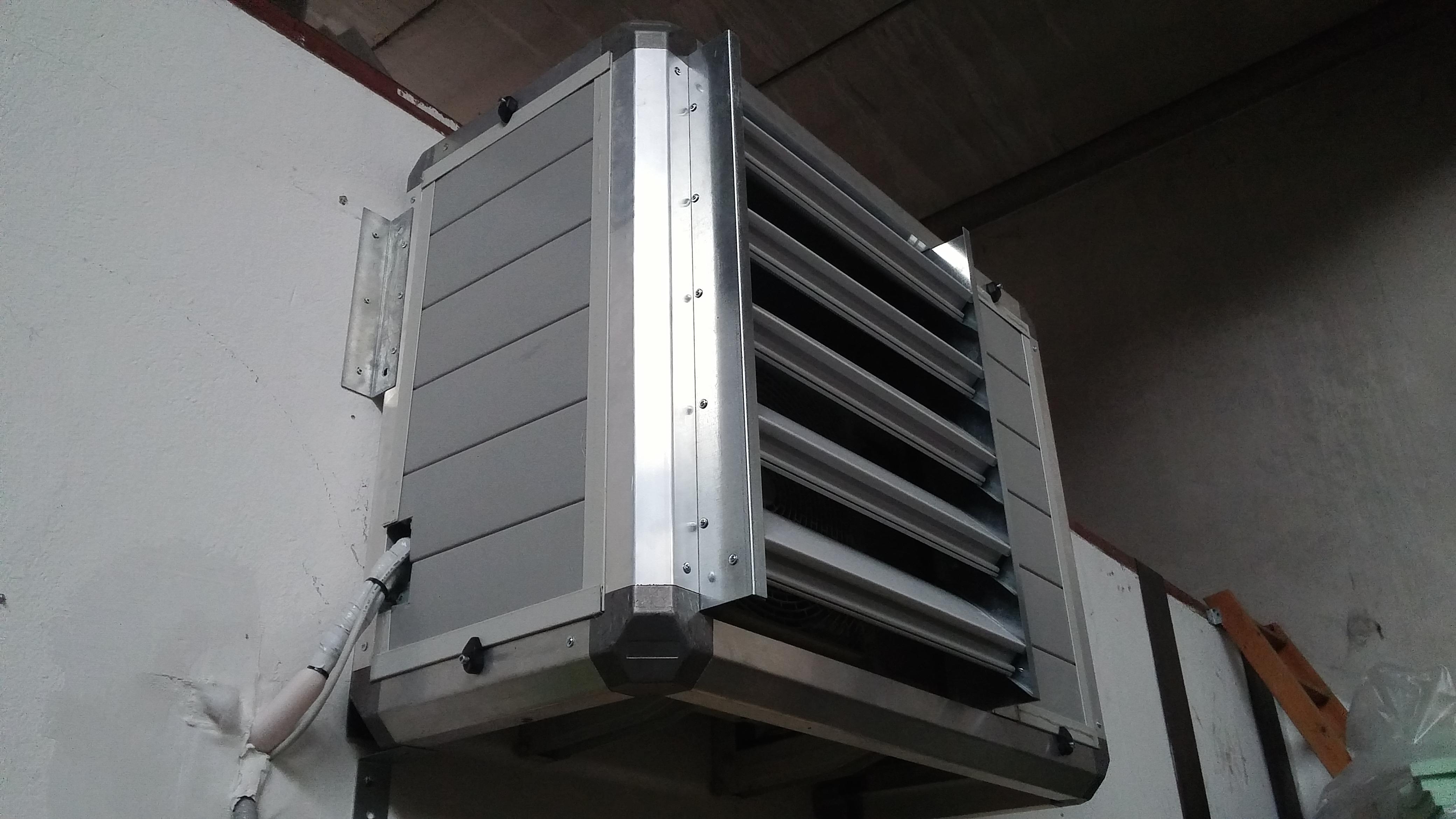 Isolamento acustico motore condizionatore milano, cabina silente