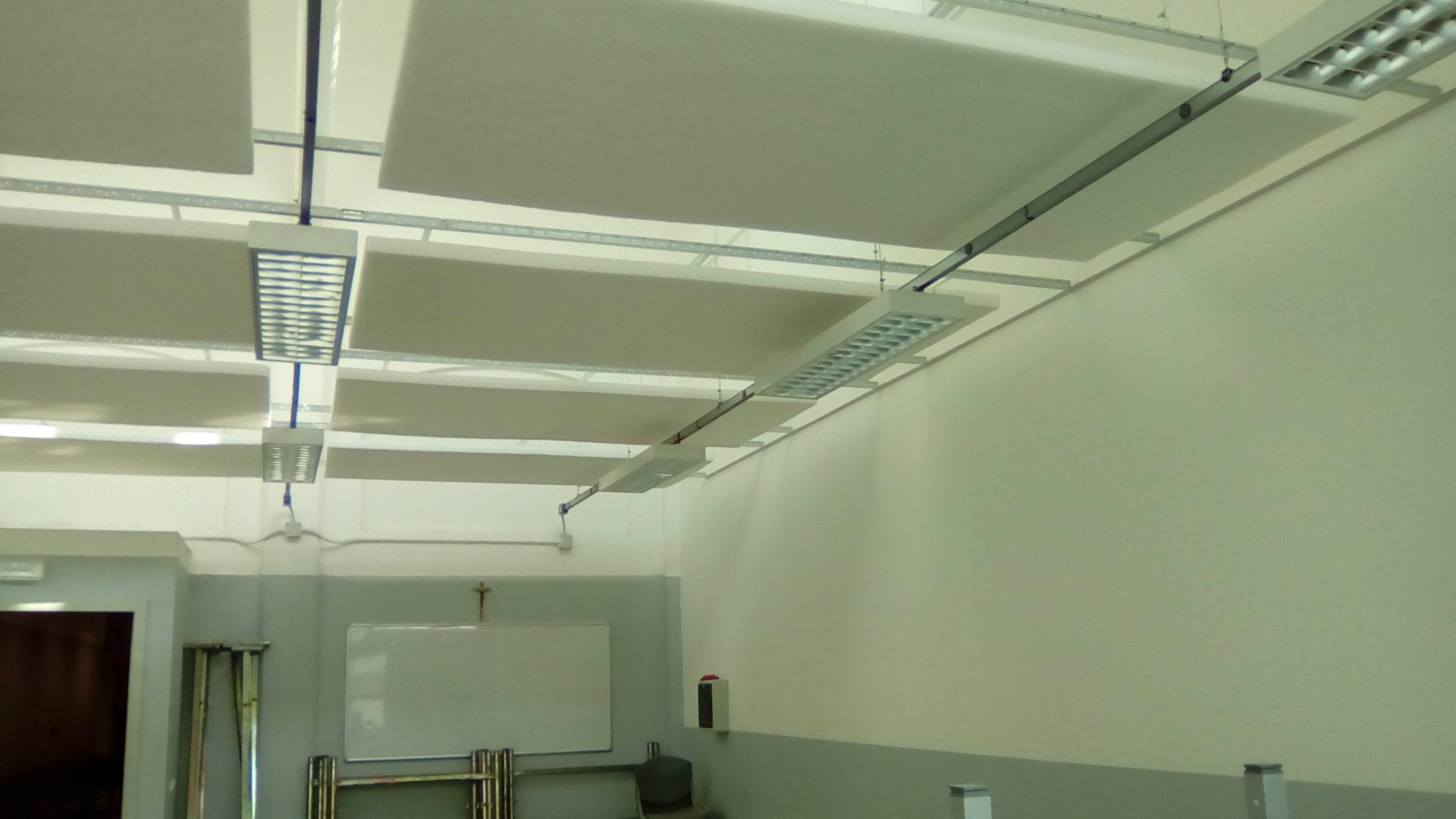 Vista d'insieme pannelli fonoassorbenti 2