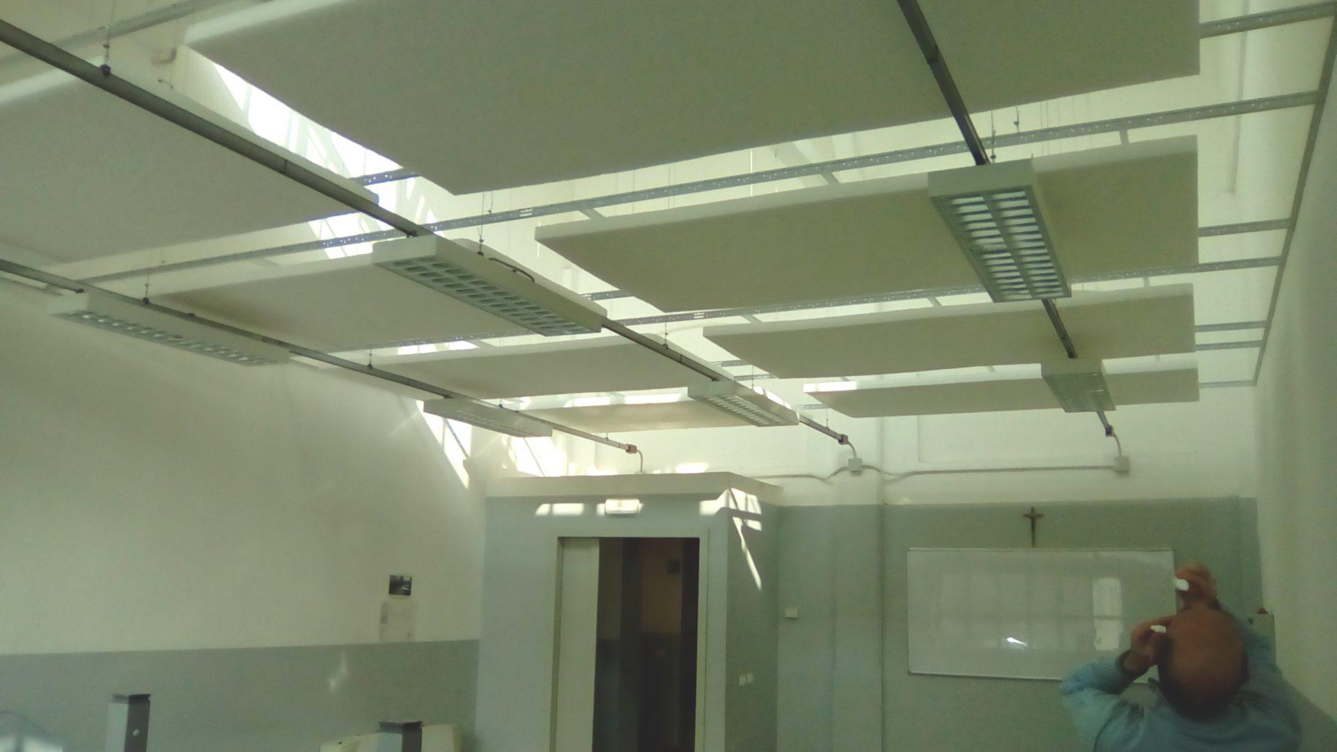 Vista d'insieme pannelli fonoassorbenti 3