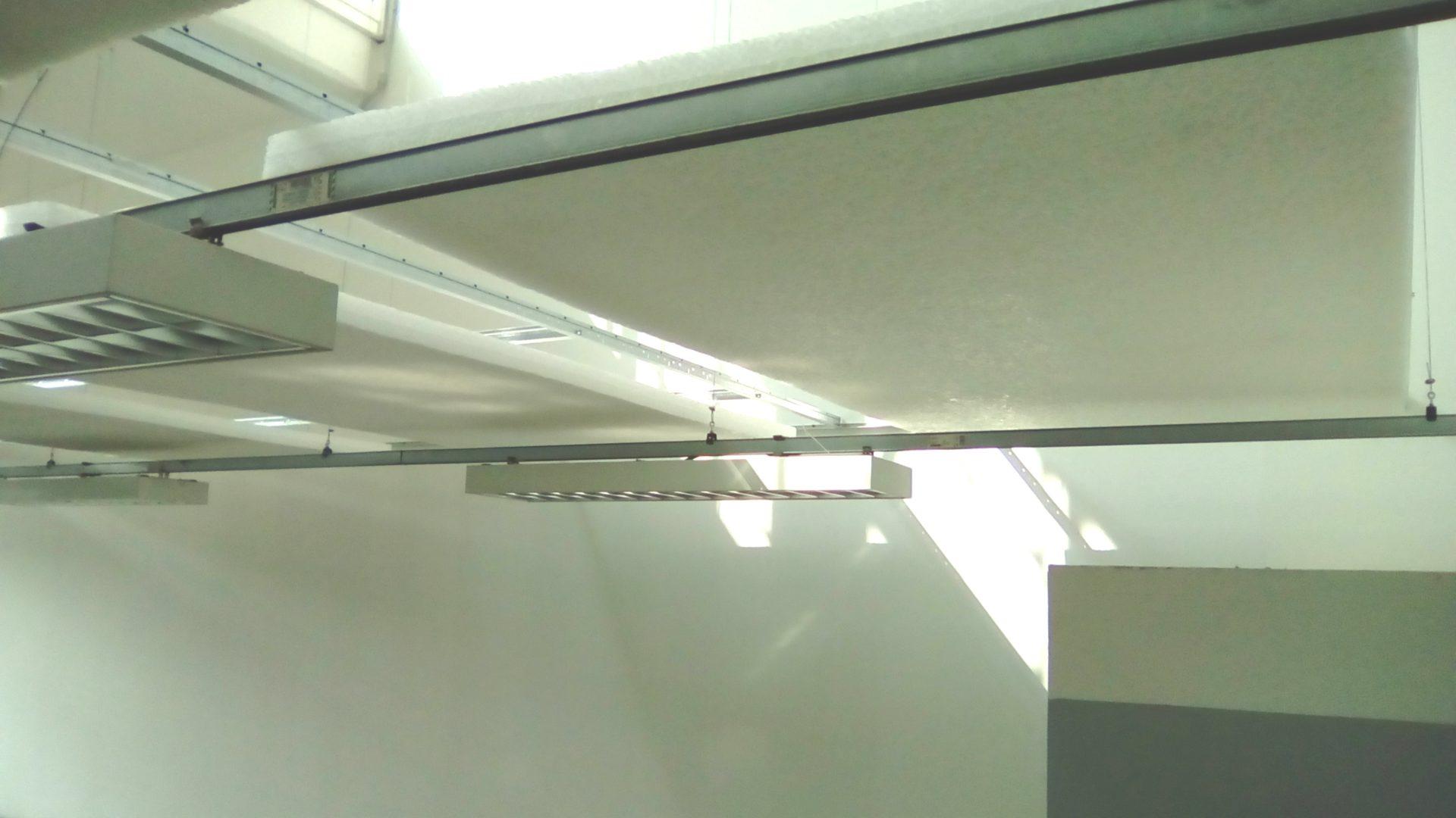 Vista pannelli fonoassorbenti 2