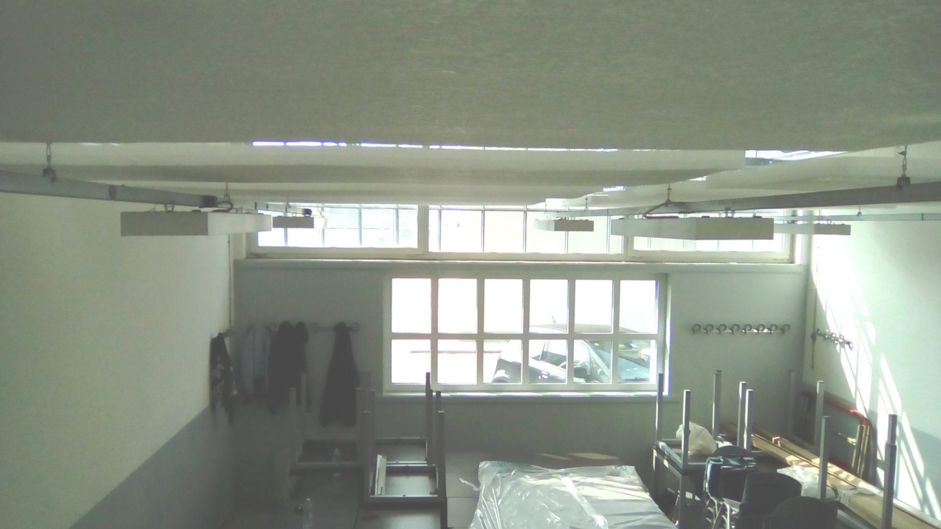 Vista pannelli fonoassorbenti 3