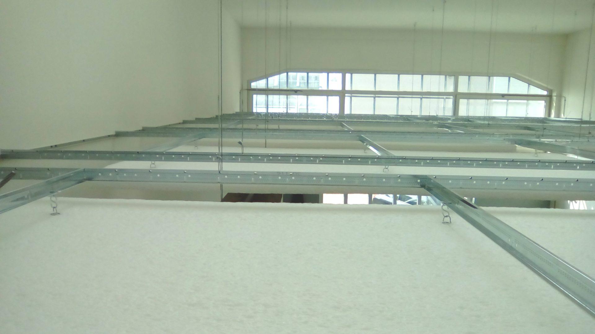 Vista pannelli fonoassorbenti dall'alto, 2