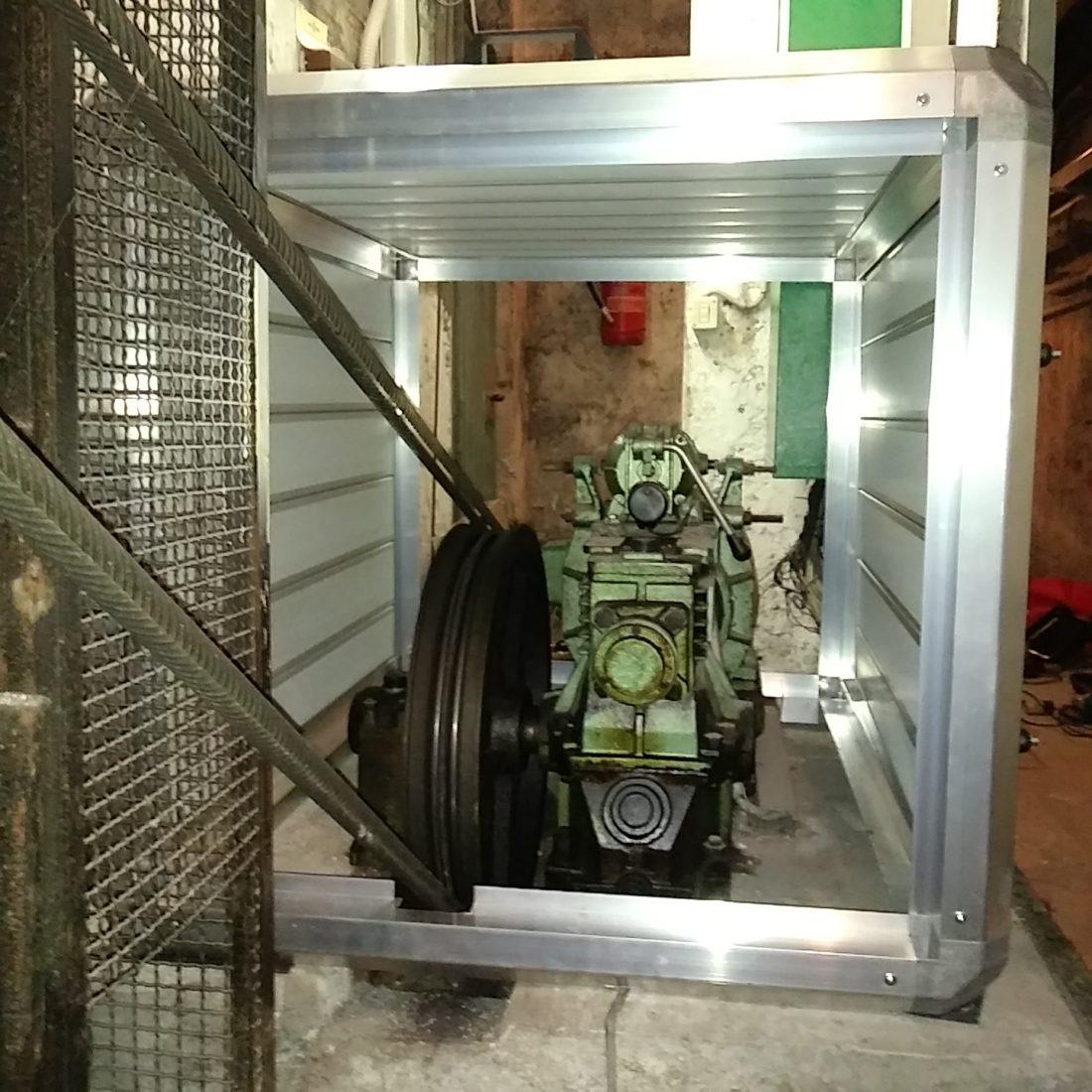 cabina silente motore ascensore